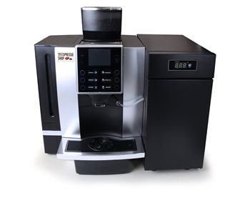 The Espresso Shop K90-L Bean to Cup Coffee Machine With Milk Fridge (UK 240V)  - Click to view a larger image
