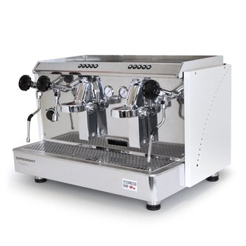 Espressomat Classica 2 Group Automatic Espresso Machine (White)  - Click to view a larger image