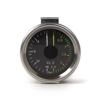 Expobar Dual Pressure Gauge ø 60mm - 60000050  - Click to view a larger image