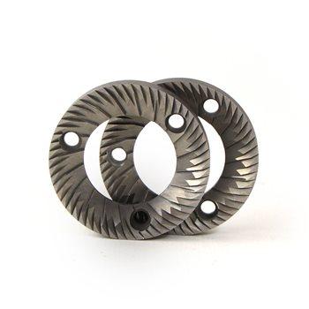 Fiorenzato MC F5 Compatible Grinder Burrs (Pair) RH 64x37x8.5mm - 400000005