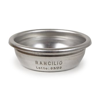 Rancilio Silvia Double Filter Basket 16g OEM - 40100107  - Click to view a larger image