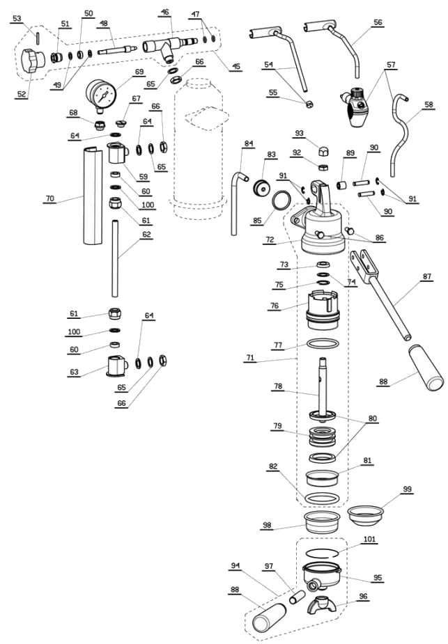 Pavoni Lever Parts Diagram 2 blodgett ef 111 wiring diagram blodgett ef 111 parts \u2022 wiring  at cos-gaming.co